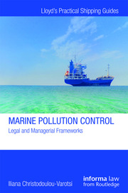 Marine Pollution Control: Legal and Managerial Frameworks
