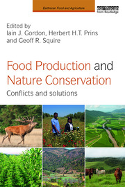 Featured Title - Food Production and Nature Conservation - Gordon - 1st Edition book cover