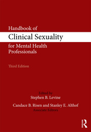 HANDBK CLIN SEX MENTAL HEALTH PROF - 1st Edition book cover