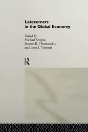 Coordinated industrialization: institutional agendas for less favored countries