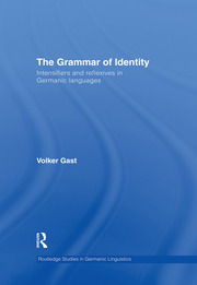 The Grammar of Identity: Intensifiers and Reflexives in Germanic Languages