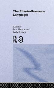 The Rhaeto-Romance Languages