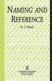 Naming and Reference: The Link of Word to Object