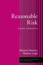 Reasonable Risk: Alcohol in Perspective