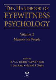 Handbook of Eyewitness Psychology
