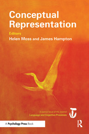 Conceptual Representation: A Special Issue of Language And Cognitive Processes