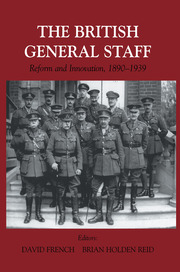 British General Staff: Reform and Innovation