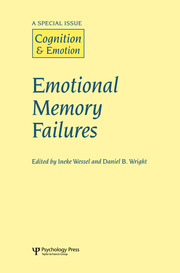 Emotional Memory Failures: A Special Issue of Cognition and Emotion