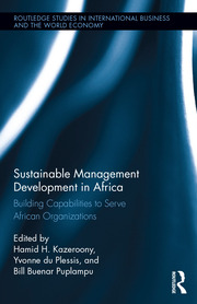 Sustainable Management Development in Africa; Kazeroony - 1st Edition book cover
