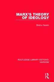 Marx's Theory of Ideology (RLE Marxism)