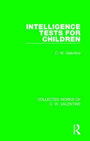 Intelligence Tests for Children