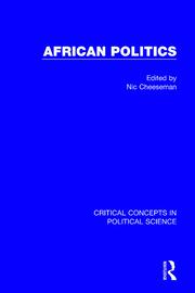 African Politics (4-vol. set)