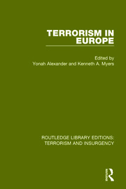 Terrorism in Europe (RLE: Terrorism & Insurgency)