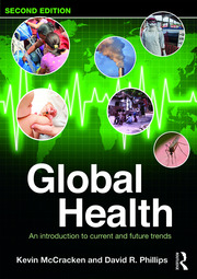 Featured Title - Global Health 2e - McCracken & Phillips - 1st Edition book cover
