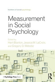 Measurement in Social Psychology