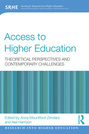 Access to Higher Education: Theoretical perspectives and contemporary challenges