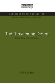 The Threatening Desert: Controlling desertification