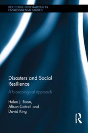 Disasters and Social Resilience- Boon et al