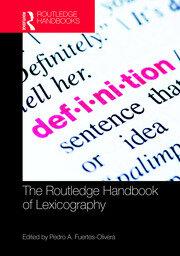 Handbook of Lexicography (Fuertes-Olivera)