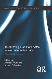 Researching Non-state Actors - Schneiker - 1st Edition book cover