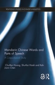 Mandarin Chinese Words and Parts of Speech: A Corpus-based Study