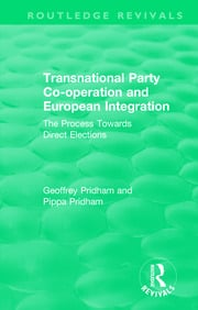 The Direct Elections Campaign and Transnational Party Co-operation