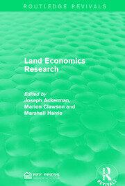 Land Economics Research