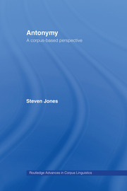 Antonymy: A Corpus-Based Perspective