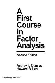 Methods of Factor Extraction