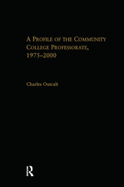 A Profile of the Community College Professorate, 1975-2000