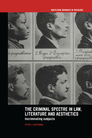 The Criminal Spectre in Law, Literature and Aesthetics: Incriminating Subjects