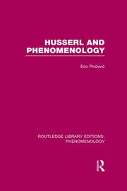 Husserl and Phenomenology