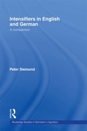 Intensifiers in English and German: A Comparison
