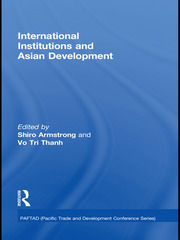 International Institutions and Economic Development in Asia