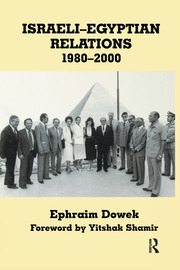 Israeli-Egyptian Relations, 1980-2000