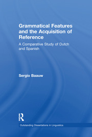 Grammatical Features and the Acquisition of Reference: A Comparative Study of Dutch and Spanish
