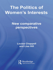 The Politics of Women's Interests: New Comparative Perspectives