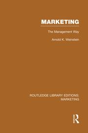 Marketing (RLE Marketing): The Management Way