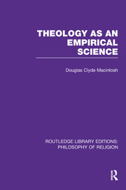 Theology as an Empirical Science