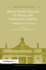 Mental Health Services for Adults with Intellectual Disability: Strategies and Solutions