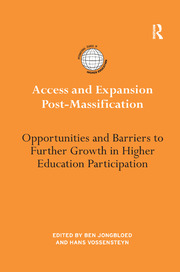 Access and Expansion Post-Massification: Opportunities and Barriers to Further Growth in Higher Education Participation
