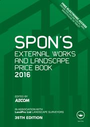 Spon's External Works and Landscape Price Book 2016