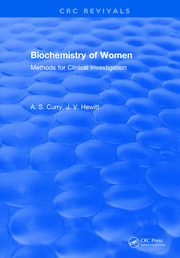 Biochemistry of Women Methods: For Clinical Investigation