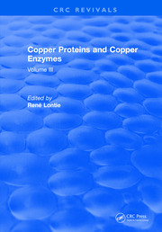 Copper Proteins and Copper Enzymes: Volume III