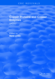 Copper Proteins and Copper Enzymes: Volume I