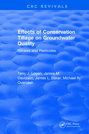 Effects Conservation Tillage On Ground Water Quality: Nitrates and Pesticides
