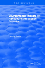 Environmental Impact of Agricultural Production Activities