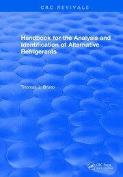 Handbook for the Analysis and Identification of Alternative Refrigerants
