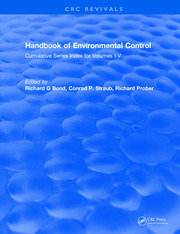 Handbook of Environmental Control: Cumulative Series Index for Volumes I-V