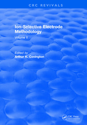 Ion Selective Electrode Method: Volume 2